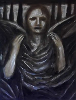 Angel with Psychic Wounds by William T. Ayton