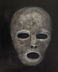 Small Gray Mask by William T. Ayton