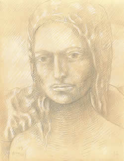 Lilith silverpoint