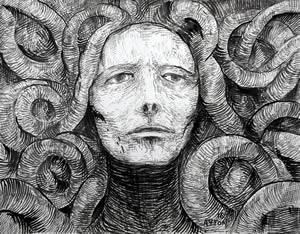 Medusa Trapped in the Coils of Reality by William T. Ayton