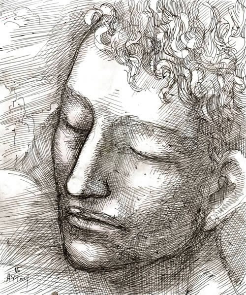 Narcissus Sleeps by William T. Ayton