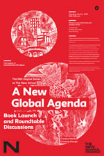 A New Global Agenda poster