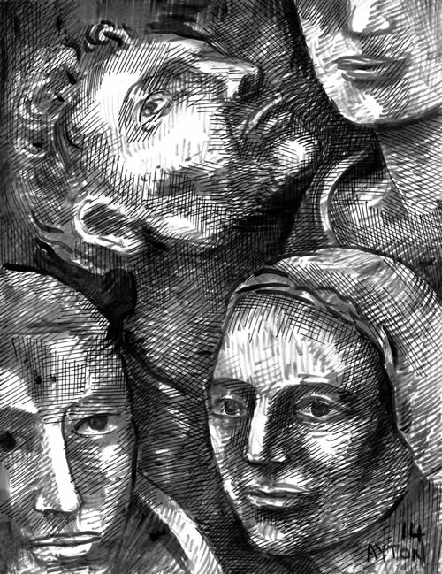 Several Heads by William T. Ayton